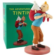 19cm The Adventures Of Tintin Action Figure Collectible Model Toy For Children