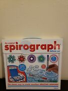 Spirograph Deluxe Design Set 45-piece By Kahootz Toys Original Wheels And Rings