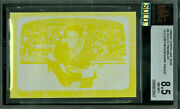 1966-67 Topps Loa Test 4 Gilles Tremblay Proof Bgs 8.5 Mac Solo Finest Grade