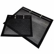 Bbq Mesh Grilling Bag Reusable With Snap 2 Pack X- Large And Medium Bags For