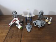 Legos 8028 4488 4489 4490 4494 And 30056 Star Wars Mini Lot - Complete Use