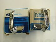 Nos Oem Ford 1965 1966 Mustang Wing Vent Handles + 1962 1963 1964 Fairlane 500