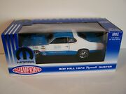 Rc2 1972 Roy Hill Pro-stock Plymouth Duster Diecast Drag Car In 1/18th Scale