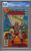 Masters Of The Universe 1 Cgc 9.8 1st Full Comic Devoted To Motu