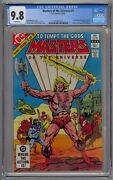 Masters Of The Universe 1 Cgc 9.8 1st Full Comic Devoted To Motu White Pages