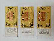 1978 Vintage Knotts Berry Farm Comp Ticket Book With 5 Ride Tickets And Admission