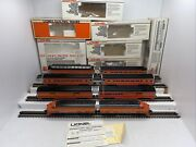 Lionel 6-8260 8262 Southern Pacific F-3 Aa Diesels + 6 Daylight Pass.cars Used O