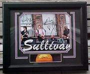 Beatles Paul Mccartney And Band Signed Abe Rusty Wix Brian Photo Display
