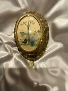 Vintage Hanging Musical Pull Toy Mary Had A Little Lamb Celluloid W/wood Backing