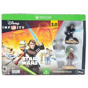 Xbox One - Disney Infinity 3.0 Star Wars Starter Pack Sealed Game And Pad In Box