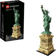 Lego Architecture 21042 Statue Of Liberty 1685 Piece Building Kit