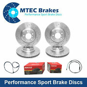 Bmw 5 F10 F11 535d 535i 550i Avant And Arriandegravere Frein Disques Perforandeacute And Pads