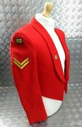 Ex-british Army Issued The Mercian Regiment Mess Dress Jacket With Insignia