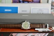 Seiko Sarb017 Alpinist Box Tags And Papers Green Dial Discontinued Model New 2017