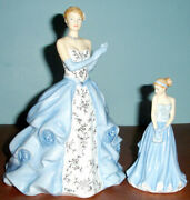 Royal Doulton Catherine And Kate Pretty Ladies 2 Pc. Figurine Set Foy 2013 New