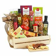 California Delicious Ultimate Meat And Cheese Gift Crate