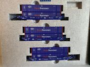 N Scale Kato 106-6118 Gunderson Maxi-iv Double Stack Car Pacer