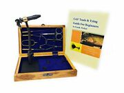 Colorado Anglers Wooden Fly Tying Standard Tool Kit, Fly Fishing Vise, Bobbin