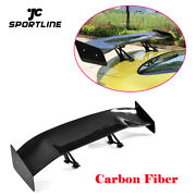 Carbon 57.87 Inch Rear Trunk Spoiler Racing Wing Universal For Bmw Vw Audi Benz