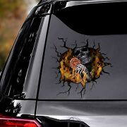 Large High Quality Firefighter Skull Car Dec For Luxury Cars Funny Hot New 2021