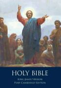 The Holy Bible Authorized King James Version, Pure Cambridge Edition By Unknown