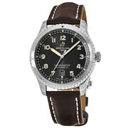 New Breitling Aviator 8 Automatic 41 Black Dial Menand039s Watch A17315101b1x4