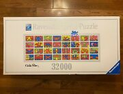 32000 Ravensburger Double Retrospect Jigsaw Puzzle By Keith Haring 178384