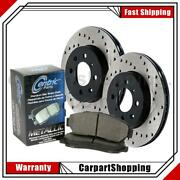 Centric Parts Front 3 Of Disc Brake Pad Set Disc Brake Rotors For Cl550 S550