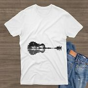 Guitar Tree T Shirt Nature Forest, Climate Change Music, Vintage Ph2101136