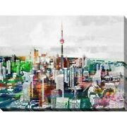Ppi Studio Toronto, Ontario 3 Giclee Stretched Canvas Wall Extra Large
