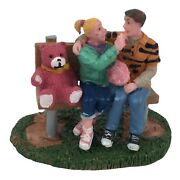Lemax Carole Towne Sharing Cotton Candy Retired No Box 02822