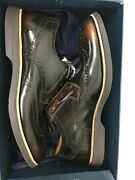 Sperry Top Sider Gold Cup Gc Bellingham Bronze Wing Tip Dress Shoes Size 10.5