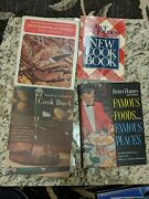 Lot Of 4 1960s 1970s Vintage Better Homes And Gardens Cookbooks Hardcover