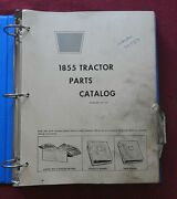 1969-1975 Oliver White 1855 Tractor Parts Catalog Manual Good Shape