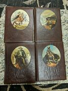 4 Time Life The Old West Books The Gunfighters, The Trailblazers, The Great Chie