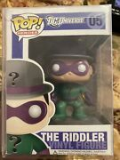 Funko Pop Dc Heroes Dc Universe The Riddler 05 Vaulted Nib Free Shipping