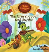 The Grasshopper And The Ant Aesop's Fables In Verses By Sigal Adler New