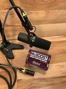 Shure Sm7b W-radial Engineering Mcboost And 6and039 Cable Immediate Shipping
