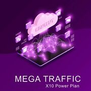 Unlimited Mega High Quality Real Organic Web Traffic From Targeted Sources