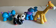 2006 Fisher-price Amazing Animals Sing And Go Choo Choo Train Replacement Animals