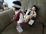 Duck House Heirloom Porcelain Dolls Su Ling And Boy
