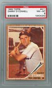 1962 Topps 411 Danny O'connell Psa 8 Nm-mt 19404243 Apr21