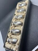 Vintage Lot Of 6 Ghf Sterling Silver Salt And Pepper Shakers Mini Collector Set