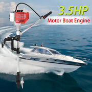 Sponsored 2 Stroke 3.5hp Heavy Duty Outboard Motor Boat Engine Water Cooling Cdi