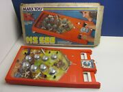 Rare Vintage Complete Marx Toys Mx 500 Pinball Electronic Game 1976 Boxed 0998