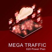 Unlimited High Quality Real Organic X20 Mega Web Traffic From Targeted Sources