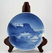 1953 Jule After Bing And Grondahl Copenhagen Royal Boat In Greenland Plate Waters