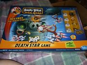 Star Wars Angry Birds Death Star Jenga Game - Complete In Box