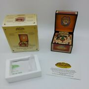 Gold Label Collection Vintage Music Box Train 75th Anniversary Mr Christmas