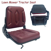 Universal Tractor Seat Lawn Mower Tractor Seat Garden Tractor Slidable Seat